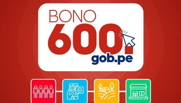 El Bono 600 soles se viene entregando desde el pasado 17 de febrero | Imagen: Midis