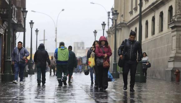Las temperaturas de la ciudad continuarán bajando, advierte Senamhi. (Fpto: GEC)