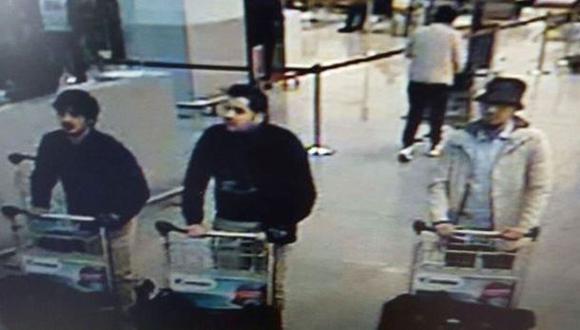 Estos serían los autores del atentado en aeropuerto de Bruselas