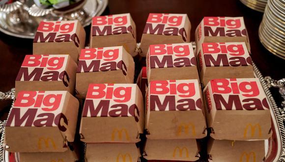 """La decisión de laOficina de Propiedad Intelectual de la UE revocó el registro de la marca """"Big Mac"""" por parte de McDonald's. (Foto: Reuters)"""