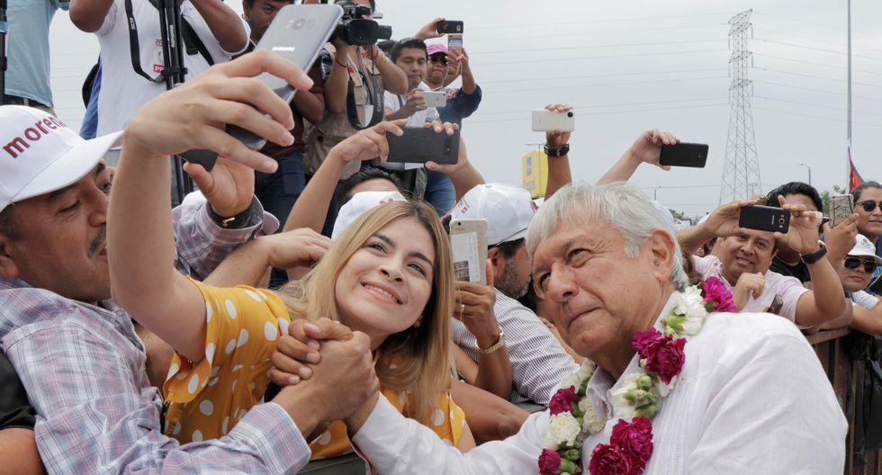 AMLO | México: Andrés Manuel López Obrador saca hasta 32 puntos de ventaja a cuatro días de las elecciones. (Reuters).