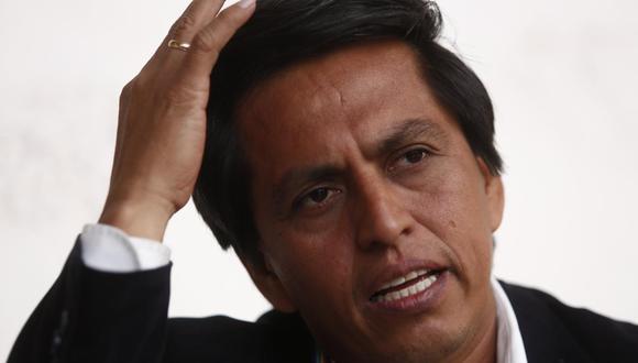"""El congresista Meléndez consideró que """"la actitud de Cateriano no ha sido la de tender puentes"""". (Foto: GEC)"""