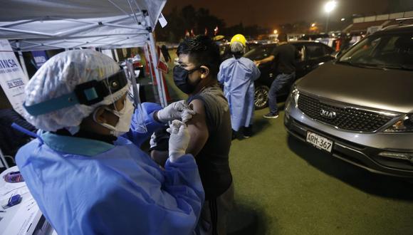 El número de personas vacunadas aumentó este lunes. (Foto:GEC)