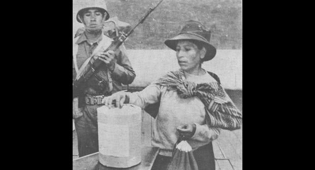 El ataque en Chuschi, Ayacucho, en 1980 dio inicio a los actos terroristas de Sendero Luminoso. (Foto: LUM)