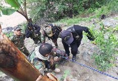 Ayacucho: Rescatan cadáver de un hombre en el río Mantaro
