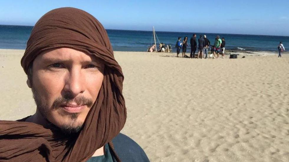"""Cristian Rivero se encuentra en España grabando la película """"Juan Apóstol, el más amado"""". (Foto: Scenika)"""