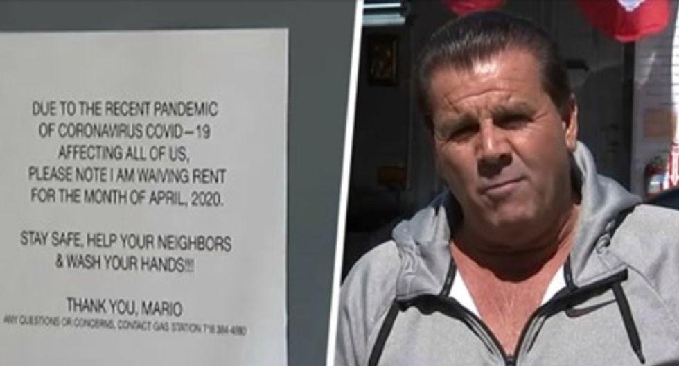Hombre renuncia a cobrar renta a sus más de 80 inquilinos debido al coronavirus (Foto: Facebook / NFC New York)