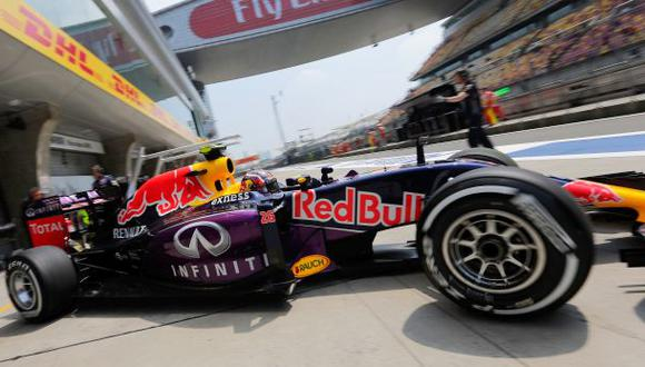 Un monoplaza de la escudería Red Bull correrá en Lima. (Foto: AP)