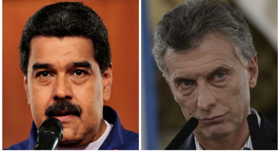 """Maduro llama """"ladrón"""", """"farsante"""" y """"bandido"""" a Macri"""