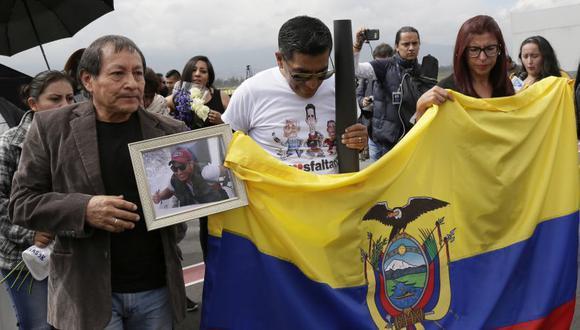 La información reservada que les entregó el Gobierno sobre el caso fue revisada por primera vez este miércoles en Quito. (Foto: AP / Archivo)