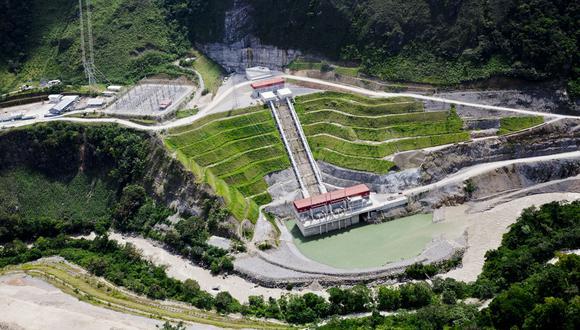 La hidroeléctrica Chaglla. (Foto: GEC)
