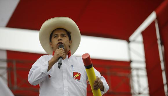 """El candidato presidencial de Perú Libre indicó que los fondos de pensiones deben ser manejados por """"los propios trabajadores quienes sepan cómo administrar su propia pensión"""". (Foto: El Comercio)"""