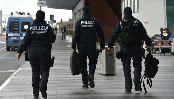 La Policía de Frontera de Italia reveló hoy la detención, pese a que se produjo el pasado 20 de agosto.(AFP)