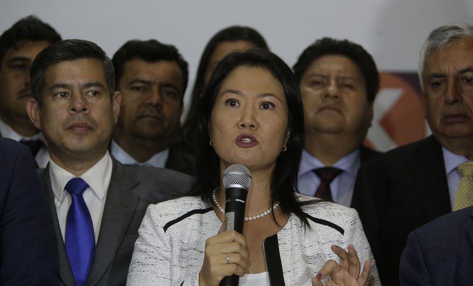 Keiko Fujimori es investigada por el presunto delito de lavado de activos por el fiscal José Domingo Pérez. (Foto: Archivo El Comercio)