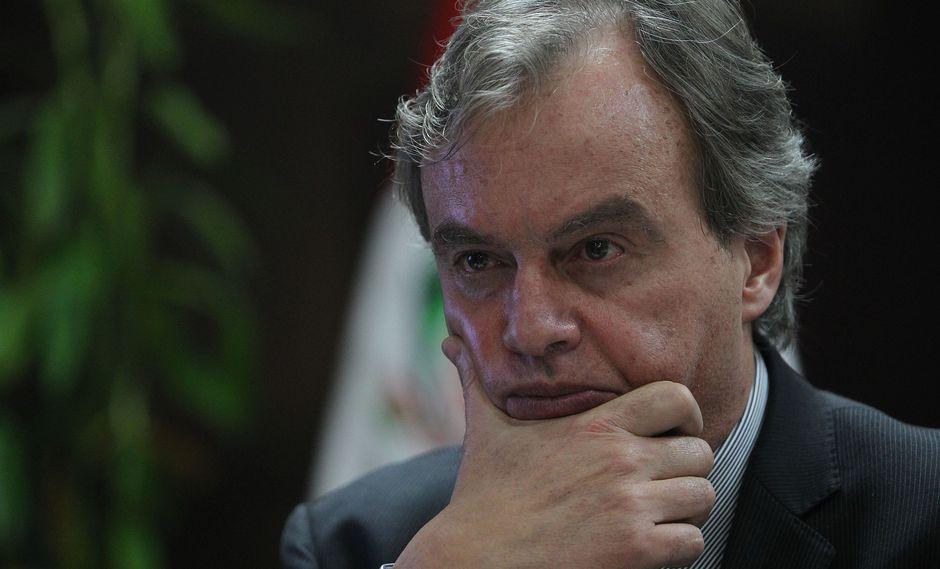 El ex ministro del Interior Carlos Basombrío estimó que hay varias denuncias en su contra en el Congreso. (Foto: Archivo El Comercio)