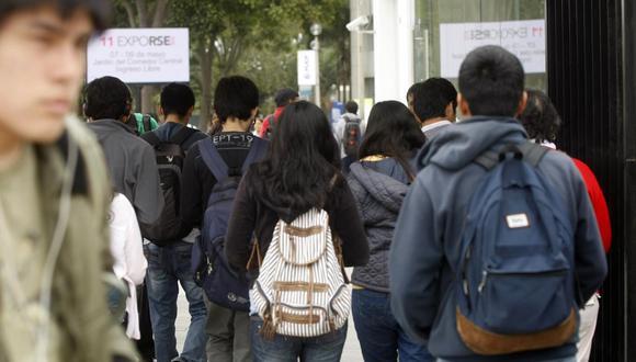 El impacto de la pandemia ha alcanzado a 9 millones de estudiantes de educación superior. (Foto: David Vexelman/ GEC)