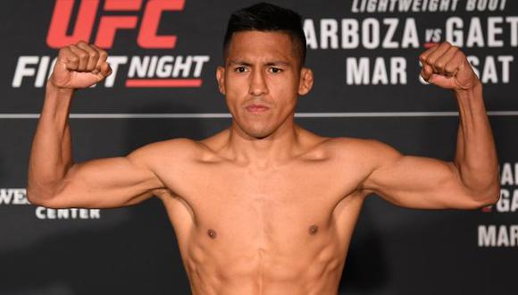 Barzola, de 30 años, es el primer peruano confirmado para el evento de Montevideo. (Foto: UFC)