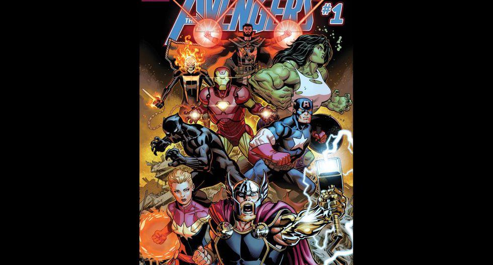 """""""Avengers Vol. 1:  The Final Host"""" (2018) - Los Vengadores se enfrentan a uno de sus mayores retos con el regreso de la superpoderosa raza extraterrestre conocida como los Celestials. (Fuente: Marvel)"""