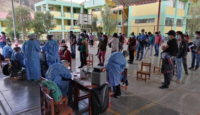 Para esto, el Ministerio de Salud habilitó 30 vacunatorios, algunos con vacunacar, en Lima Metropolitana y Callao. (Foto: Minsa)