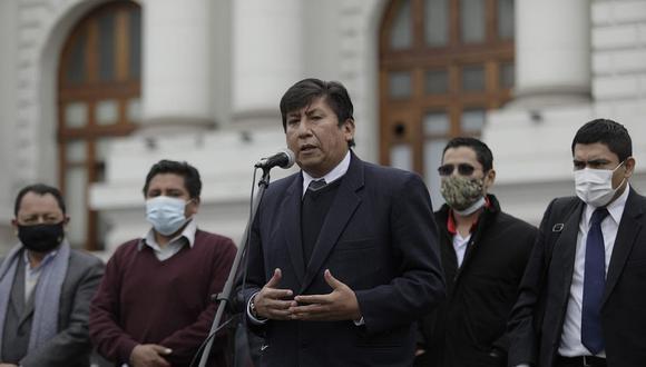 Bancada de Perú Libre la lidera Waldemar Cerrón, hermano del líder del partido. (Foto: El Comercio)