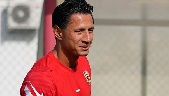 Gianluca Lapadula se unió a la pretemporada de Benevento. (Foto: Ottopagine)