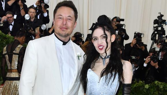 Elon Musk y Grimes acaban de ser padres de un hermoso bebé a quien le pusieron un nombre que dejó pensativos a muchos (Foto: ANGELA WEISS / AFP)