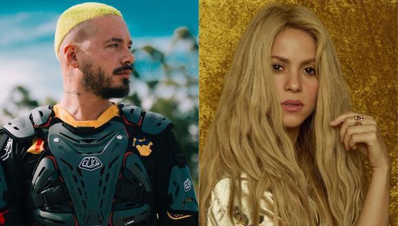 Fans defienden a Shakira en Twitter con el Hashtag #JBalvinIsOverParty. (@shakira / @jbalvin).