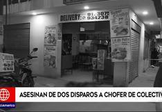 Chofer fue asesinado por sicario en el interior de pollería de San Juan de Lurigancho | VIDEO