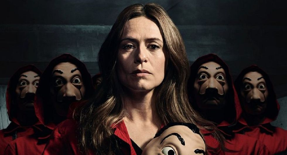 La casa de papel 5 es una posibilidad, según Itziar Ituño, quien interpreta a Raquel Murillo / Lisboa (Foto: Netflix)