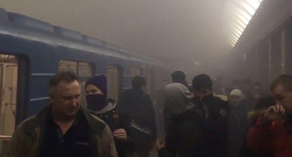Rusia: Tragedia en el metro de San Petersburgo [FOTOS] - 8