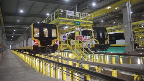 MTC informó que la primera etapa de la Línea 2 del Metro de Lima, que comprende cinco estaciones, se encuentra al 98% y ya está próximo a iniciar pruebas. (Foto: Contraloría)