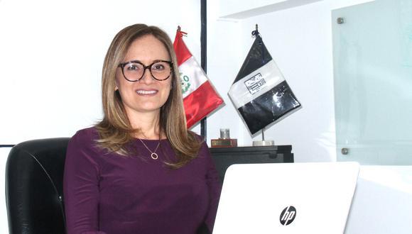 La ejecutiva, quien es ingeniería industrial por la Universidad de Lima y magíster en Dirección General por la Universidad ESAN, tiene experiencia en los rubros de mercados de capitales y finanzas.  (Foto: Alianza Lima)