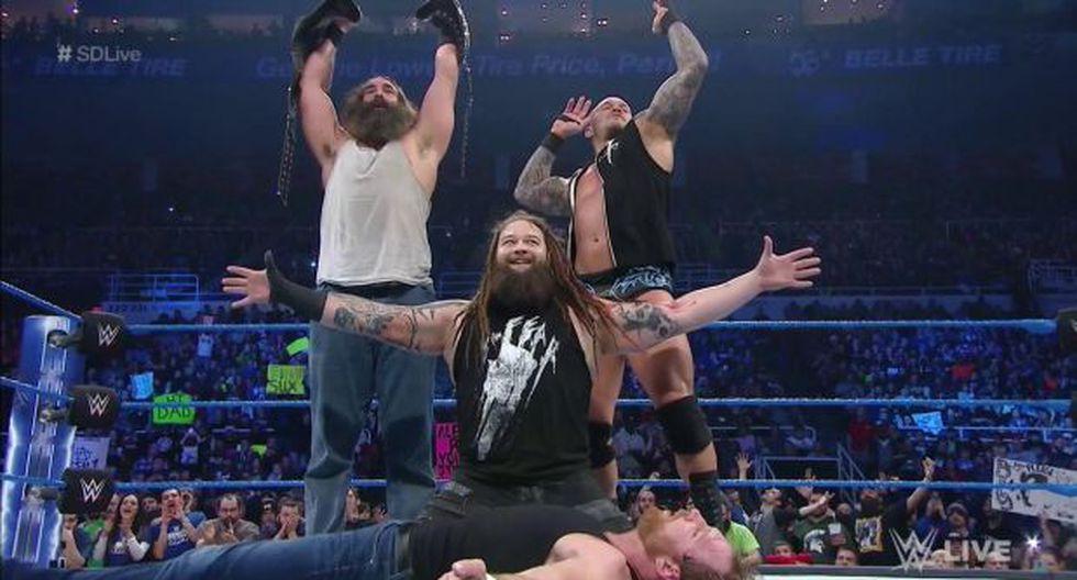 WWE SmackDown: Dean Ambrose fue masacrado por The Wyatt Family