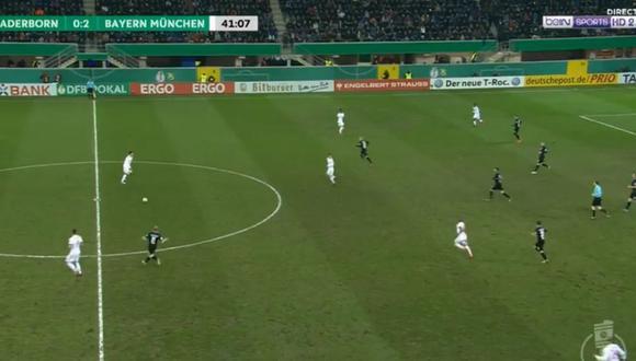 Facebook: ¿Viste alguna vez a un zaguero dar un pase gol como éste? (Foto: Captura de Facebook)