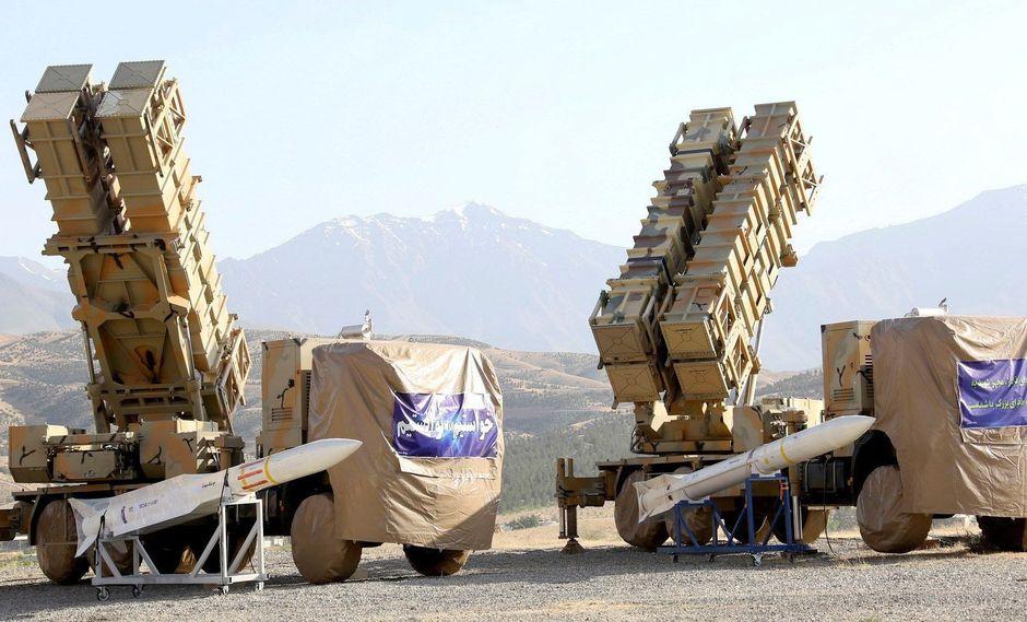Irán presenta un nuevo sistema de defensa aérea ante la tensión con Estados Unidos. (EFE).