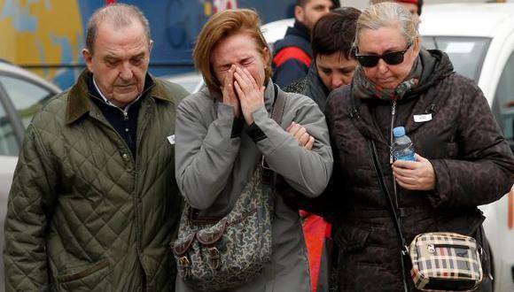 Tragedia aérea en Francia: Hay 16 escolares entre las víctimas