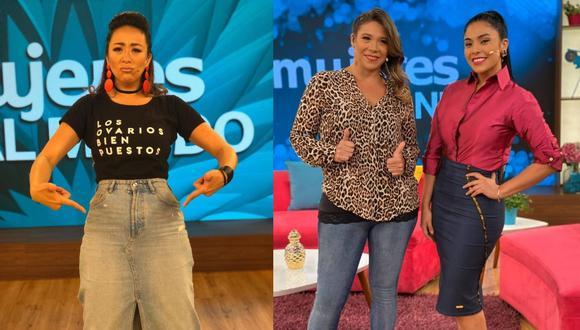 Cathy Sáenz criticó la conducción de 'Mujeres al mando', espacio de Latina. (Foto: Instagram)