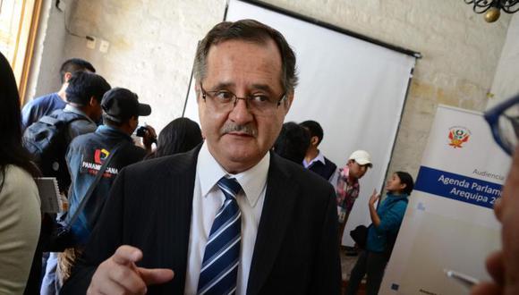 Marco Tulio Falconí ha postulado tres veces al Parlamento, tres al Gobierno Regional de Arequipa y una vez a la alcaldía provincial de esa ciudad. (Foto: GEC)