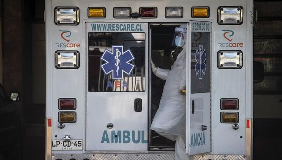 Coronavirus en Chile | Ultimas noticias | Último minuto: reporte de infectados y muertos | domingo 24 de mayo del 2020 | Covid-19. (Foto: Martin BERNETTI / AFP).