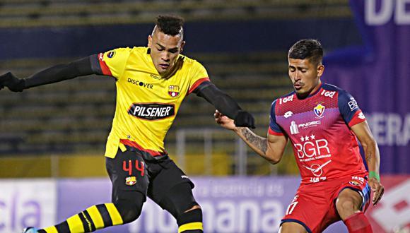Barcelona SC y y El Nacional empataron por la fecha 7 de la Fase 2 de la Liga Pro de Ecuador en el Estadio Olímpico Atahualpa. (Foto: Pro Liga)