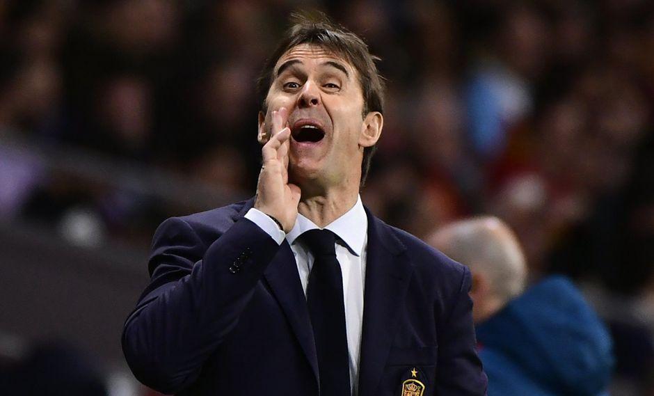 Julen Lopetegui, entrendor español. (Foto: AFP)