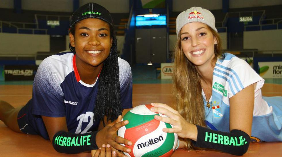 Raffaella Camet y Ángela Leyva: amigas y rivales en la cancha - 2