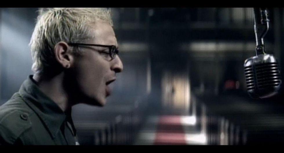 """Fragmento del videoclip de """"Numb"""". (Captura)"""