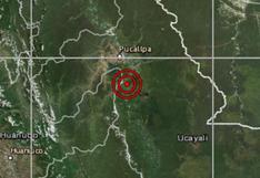 Sismo de magnitud 4,6 se registró esta mañana en Ucayali, según el IGP