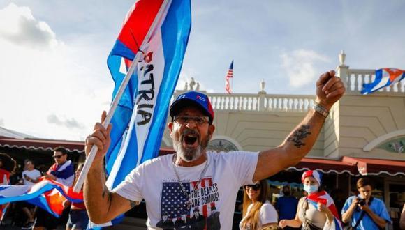 La comunidad cubanoestadounidense es muy activa e intenta influir en la política de EE.UU. hacia la isla. (Foto: Getty Images)