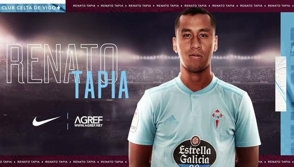 Renato Tapia enfrentará mañana al Valladolid por la liga española. (Foto: Facebook Renato Tapia)