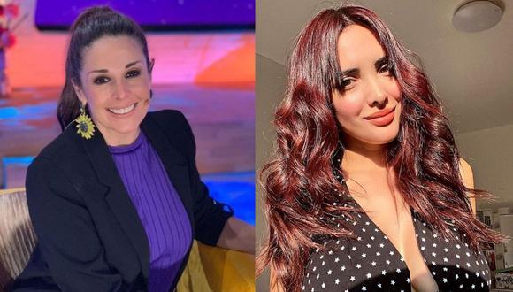 """Rebeca Escribens elogia a Rosángela Espinoza: """"Es lo máximo"""". (Foto: Composición/Instagram)"""