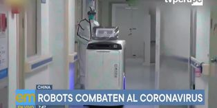 Coronavirus: En China robots con inteligencia artificial combaten el virus