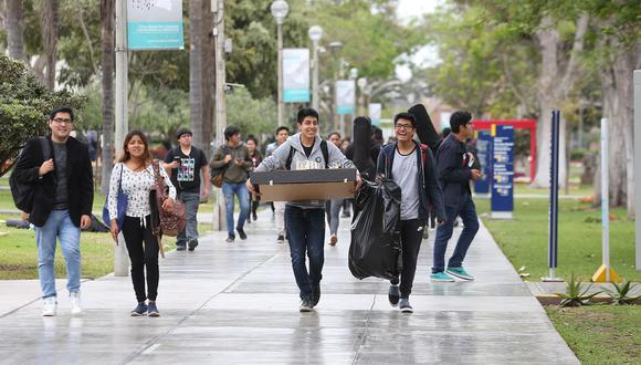 Estudiantes afectados económicamente por coronavirus pueden postular a estas becas. (Foto: GEC/Archivo)