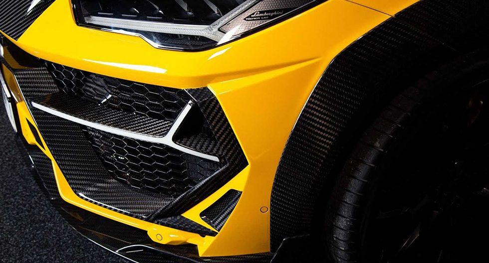 El Lamborghini Urus de Keyvany reduce su peso en 75 kg luego de apostar por la fibra de carbono. Su potencia también ha sido mejorada y ahora ofrece 820 hp. (Fotos: Keyvany).